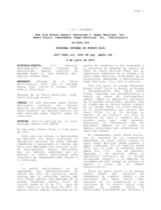 1 of 1 DOCUMENT Ada Iris Albino Agosto, Recurrida v. Angel