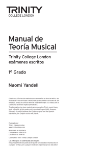 LLIBRE de TEORIA 1 - Trinity College London