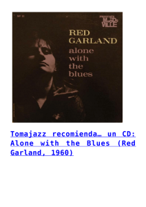 Alone with the Blues (Red Garland, 1960)