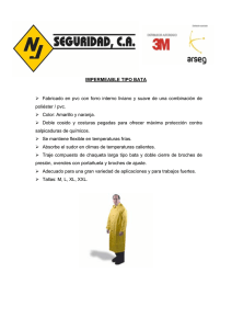 impermeable tipo bata 230c