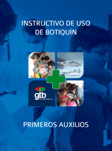 Instructivo de uso de Botiquín Vademecum