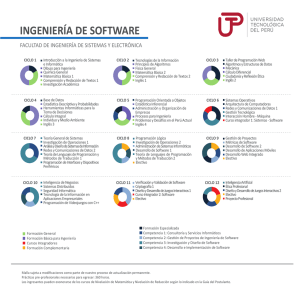 Ingeniería de Software - Universidad Tecnológica del Perú