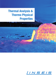 LINSEIS Thermal Analysis Overview