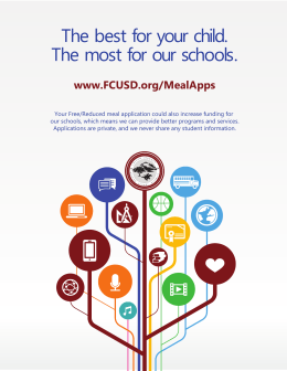 The best for your child. The most for our schools.
