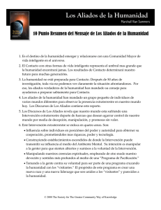 Spanish Allies 10 points - Los Aliados De La Humanidad
