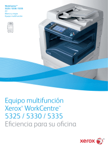 Folleto de la Serie WorkCentre 5300