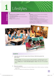 Coursebook Unit 1 Sample