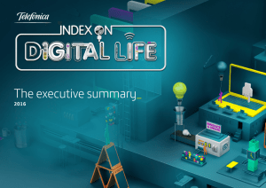 Executive Summary - Telefonica Index on Digital Life
