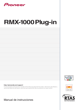 RMX-1000 Plug-in - Pioneer DJ Support