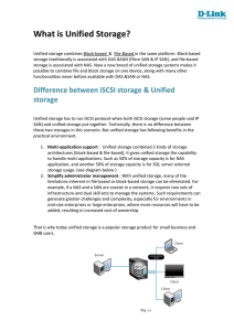 What is Unified Storage? - D-Link