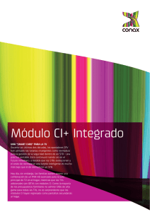 Módulo CI+ Integrado