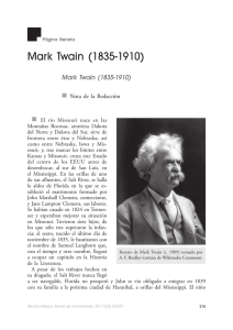 Mark Twain - Revista de Humanidades