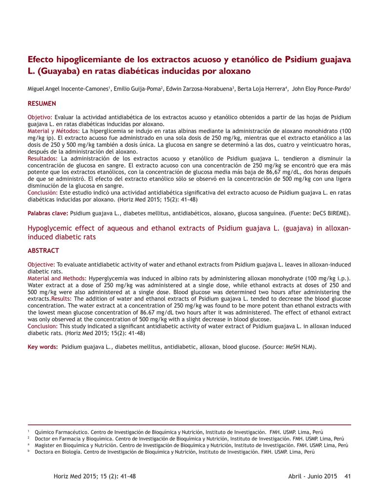 diabetes inducida por aloxano y estreptozotocina