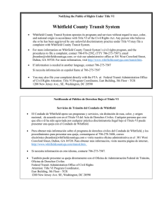 Whitfield County Transit System