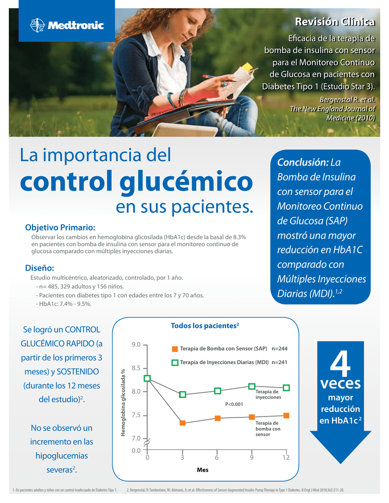 preparar estudio medtronic diabetes
