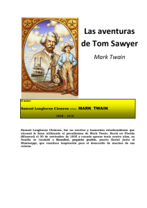 Las aventuras de Tom Sawyer Mark Twain