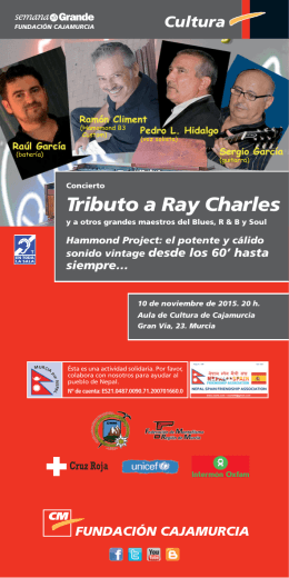 Lam Conc. Tributo RAY CHARLES