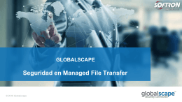 Seguridad en Managed File Transfer