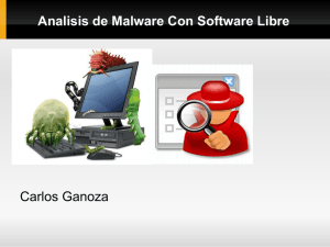 Analisis de Malware Con Software Libre