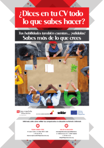 Sabes más de lo que crees - Building Learning Societies