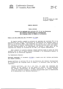 Proposed amendment to Article VII(3) of the - unesdoc