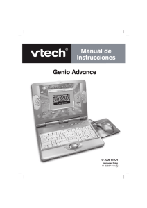 Genio Advance - Manual