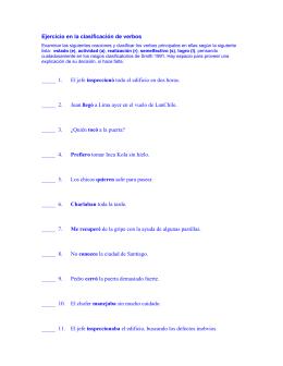 Los verbos de cambio en español