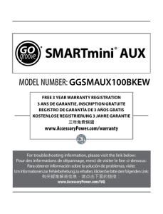 SMARTmini® AUX - Accessory Power