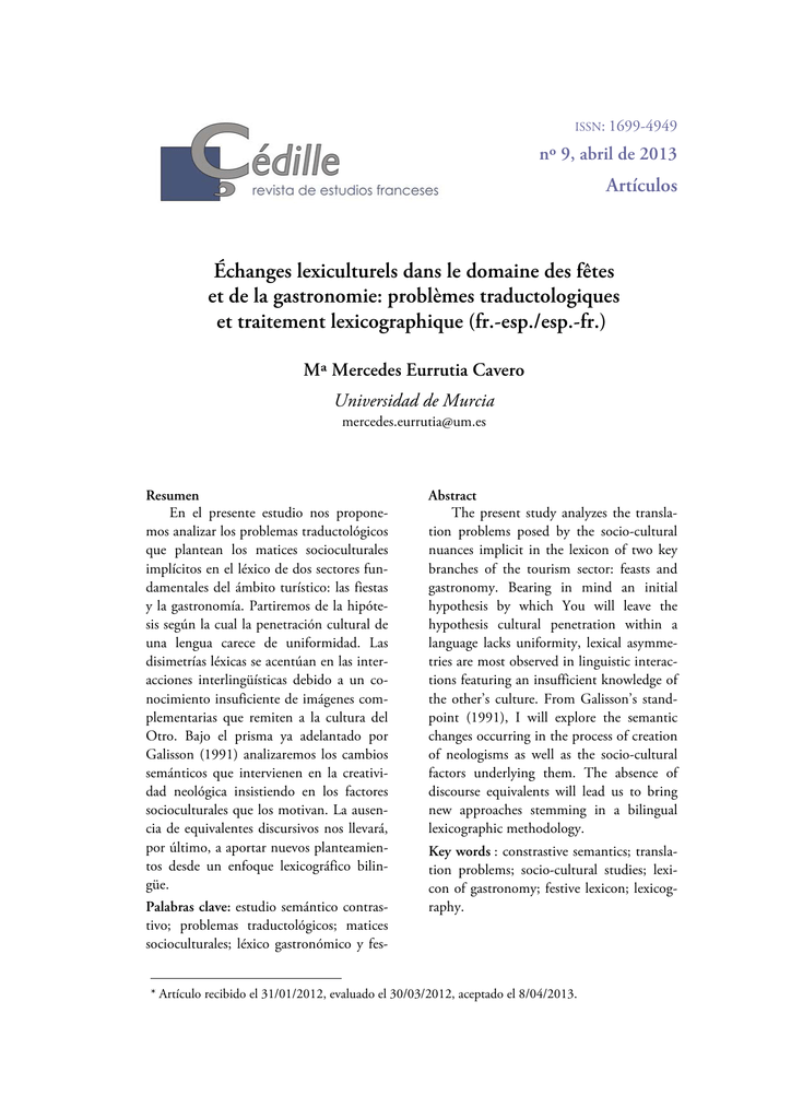 Mercedes Derniers Modèles >> Echanges Lexiculturels Dans Le Domaine Des Fetes Et De La