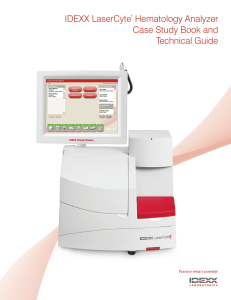 IDEXX LaserCyte Analyzer Case Study Book and Technical Guide
