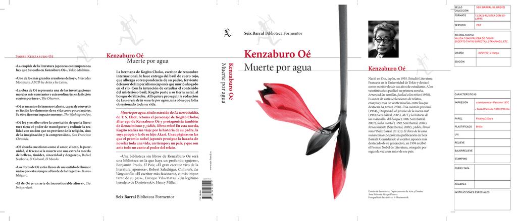 Kenzaburo Oé - Muchoslibros.com