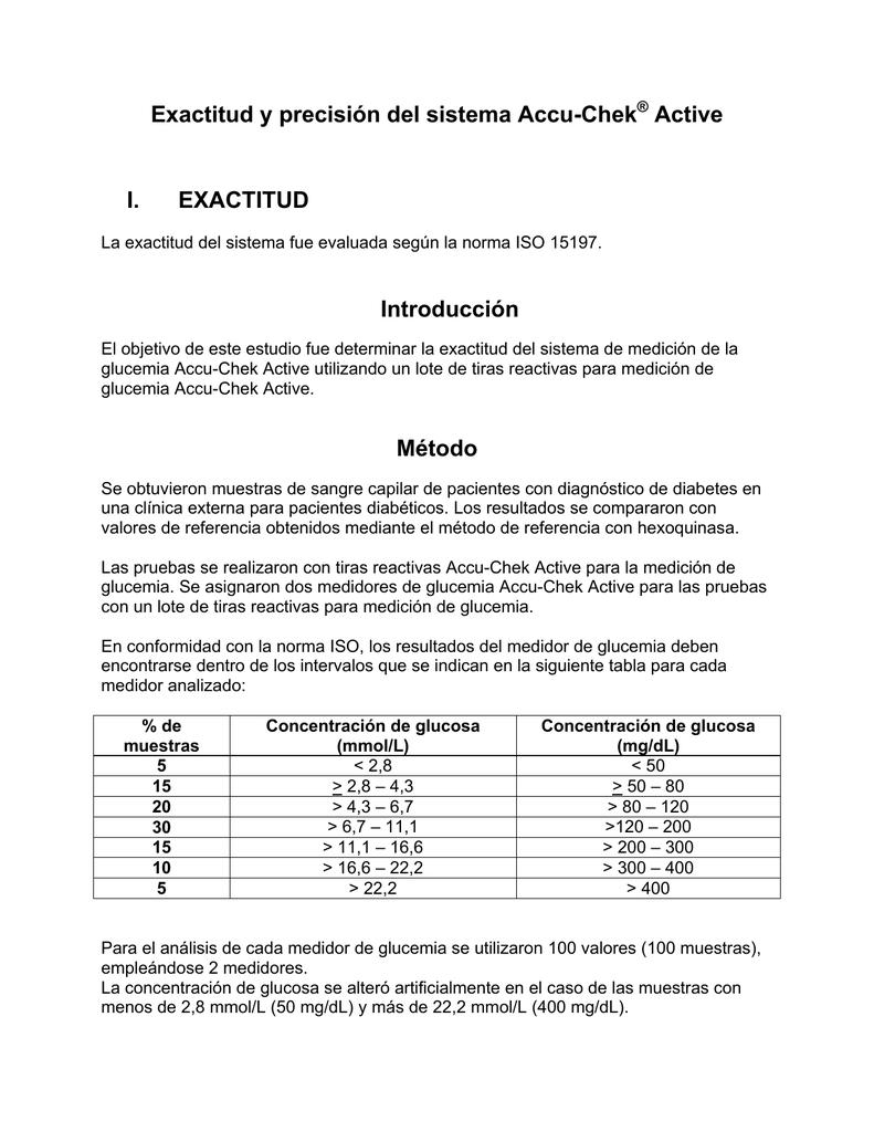 e9dfee375 Exactitud y precisión del sistema Accu