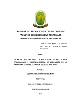 Repositorio Digital UTEQ - Universidad Técnica Estatal de Quevedo