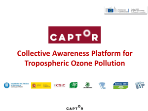 Collective Awareness Platform for Tropospheric Ozone Pollution