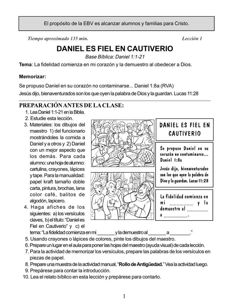 Atractivo Daniel Y Los Leones Den Las Hojas De Trabajo Cresta ...