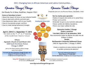 OCC: Changing lives in African American and Latino Communities…