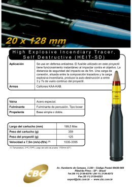 High Explosive Incendiary Tracer, Self Destructive (HEIT-SD)