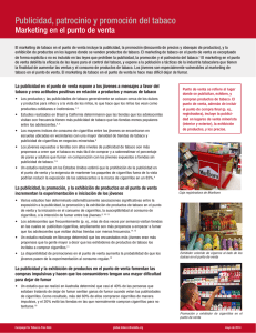 Marketing en el punto de venta - Campaign for Tobacco