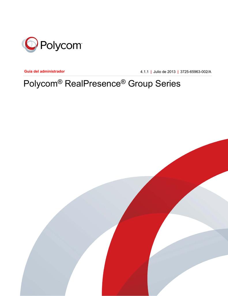 Guía del administrador de Polycom
