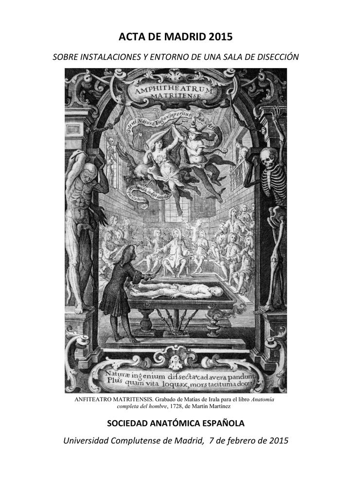 PDF aquí - Sociedad Anatómica Española