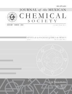 J. Mex. Chem. Soc. 2016, 60(1) - Journal of the Mexican Chemical