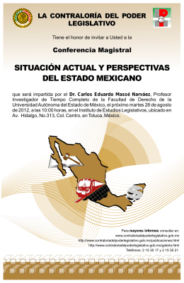cartel perspectivas edo. mexicano