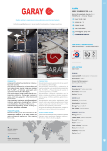 Global solutions against corrosion, abrasion and chemical