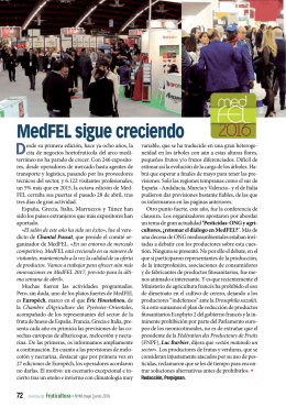 MedFEL sigue creciendo