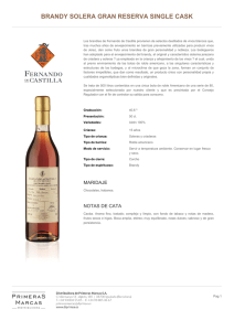BRANDY SOLERA GRAN RESERVA SINGLE CASK