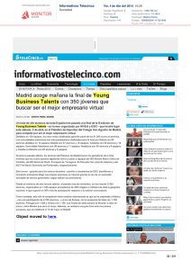 Informativos Telecinco - Young Business Talents