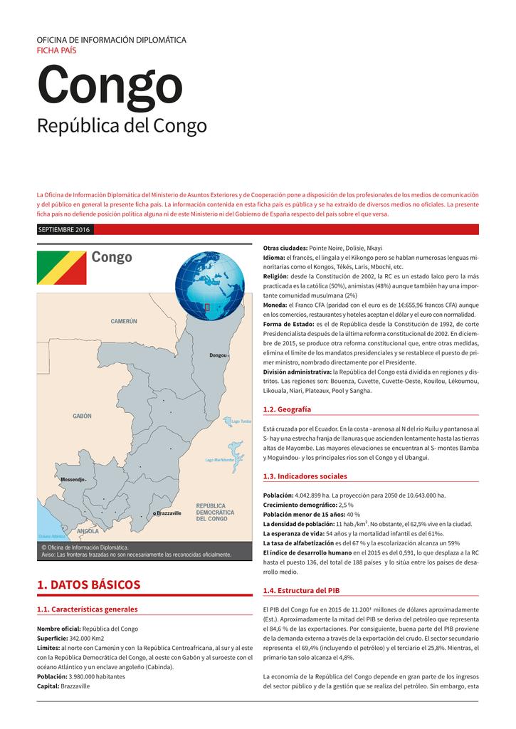 República Del Congo Ministerio De Asuntos Exteriores Y De