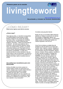 ¿CÓMO REZAR? - Marist Youth International