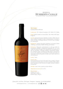 Canale Intimo Cabernet Malbec Merlot