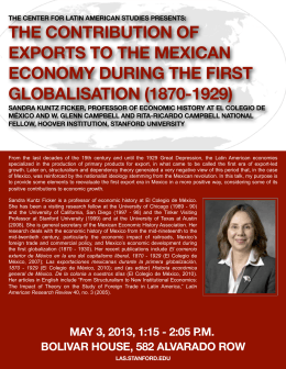 the contribution of exports to the mexican economy during the first